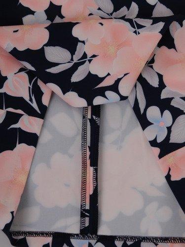 Sukienka damska 16031, wiosenna kreacja w kwiaty.