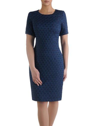 Sukienka damska Brigida, elegancka kreacja wyjściowa.