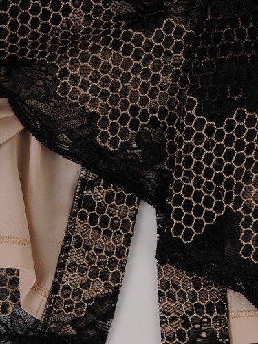 Sukienka damska Ellisa, elegancka kreacja z koronki.