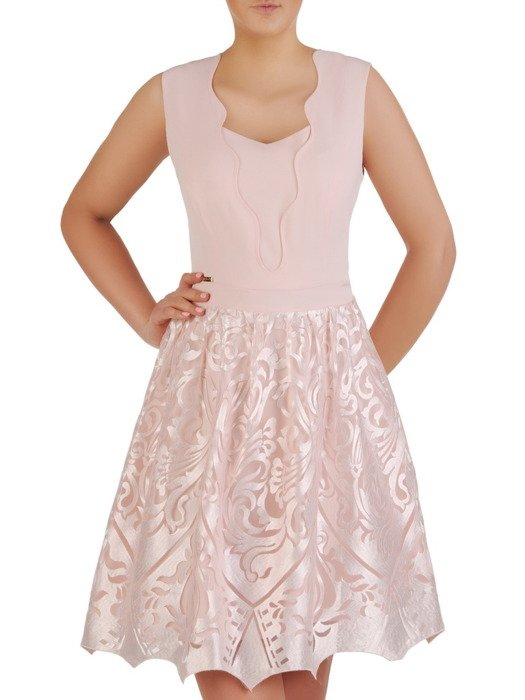 Sukienka damska Fabina I, elegancka kreacja na wesele.