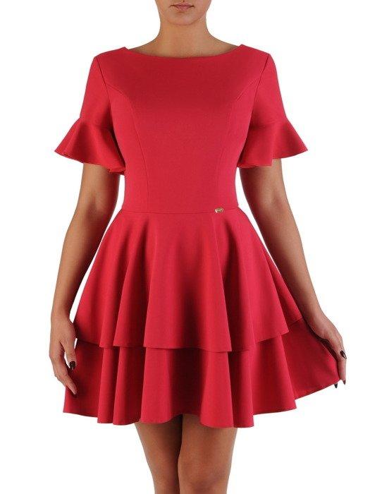 Sukienka damska Giovanna III, letnia kreacja w modnym fasonie.