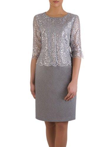 Sukienka damska Gregoria, elegancka kreacja na wesele.