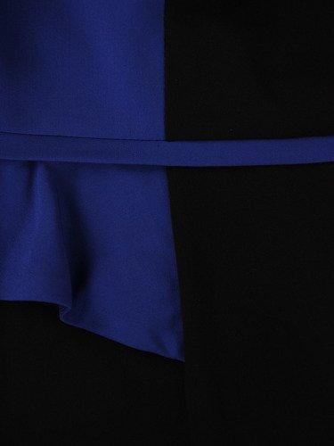 Sukienka damska Jolanta VII, efektowna kreacja z modną baskinką.