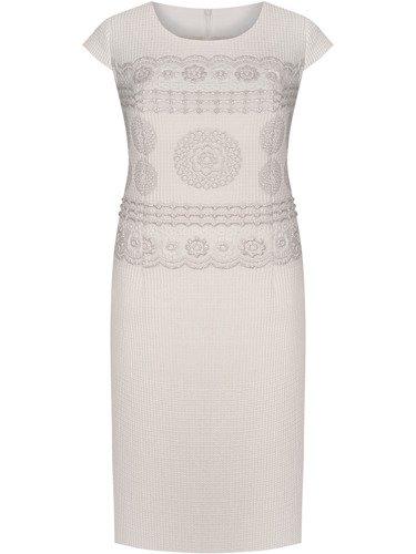 Sukienka damska Rositta IV, elegancka kreacja na wesele.