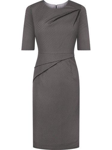 Sukienka damska Tamina II, jesienna kreacja z tkaniny.