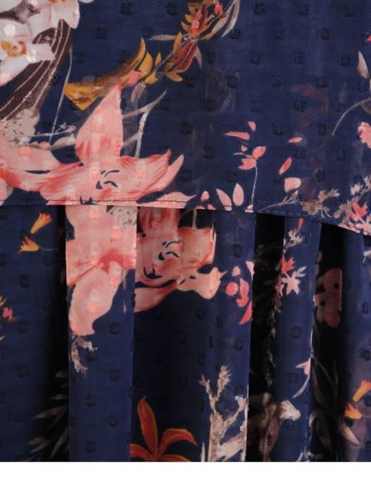 Sukienka damska, wizytowa kreacja w luźnym fasonie 29051
