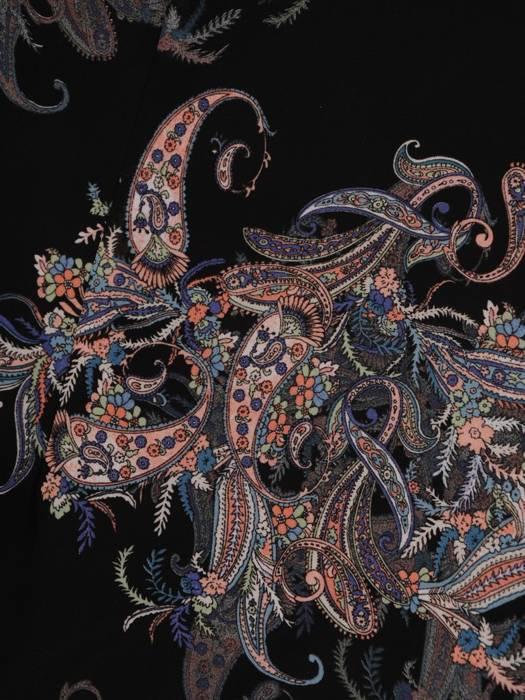 Sukienka koktajlowa, zwiewna kreacja w oryginalnym wzorze 27270
