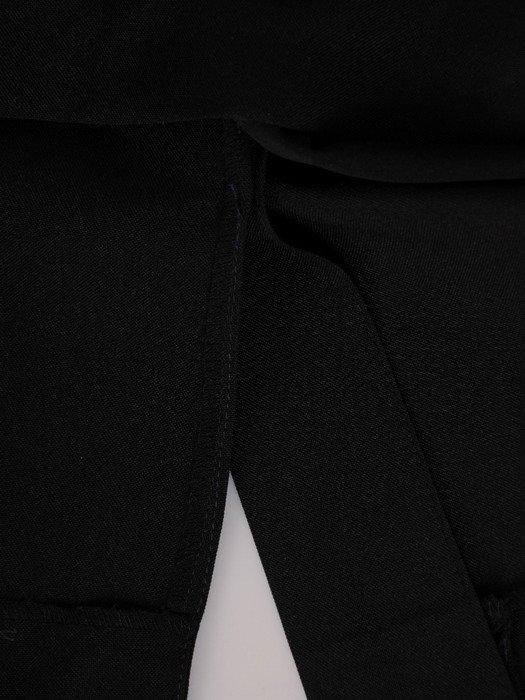 Sukienka kopertowa, wyszczuplająca kreacja z tkaniny 19910.