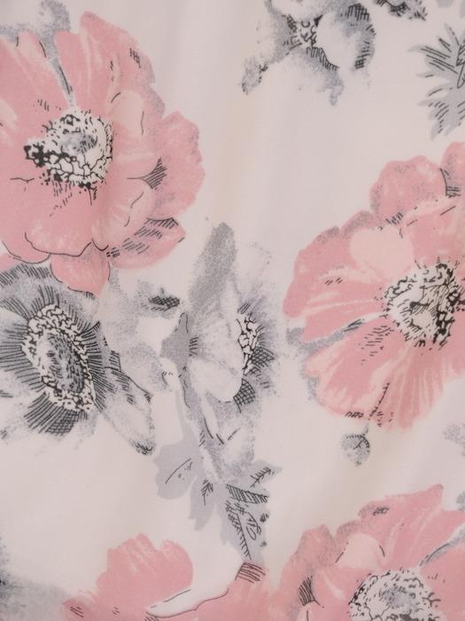 Sukienka letnia, zwiewna kreacja w kwiaty 21338.