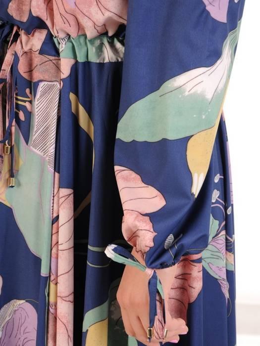Sukienka maxi, elegancka kreacja z rozcięciem 29969