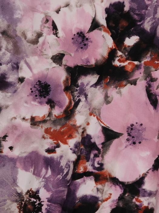 Sukienka midi z obniżonym stanem, elegancka kreacja z modnymi lamówkami 21354