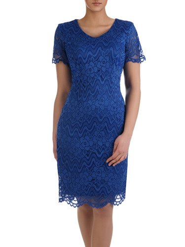 Sukienka na wesele Armida III, elegancka kreacja z koronki.