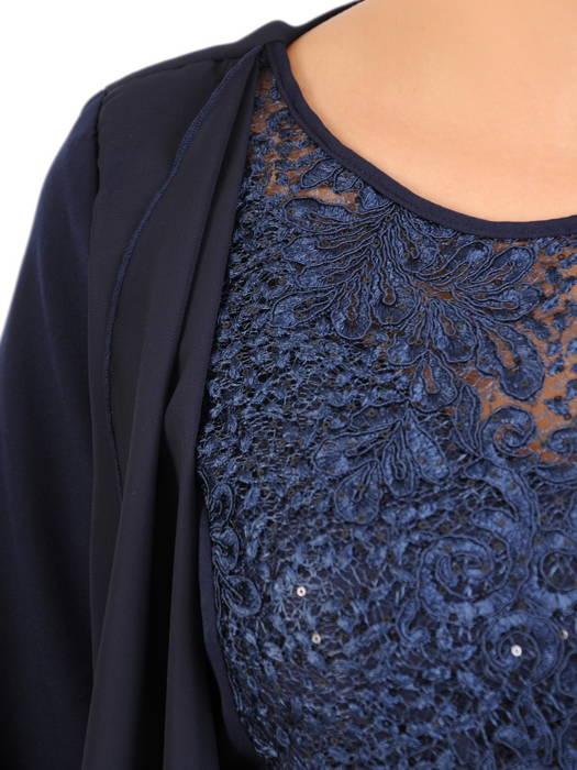 Sukienka na wesele, elegancka kreacja w wyszczuplającym fasonie 30320