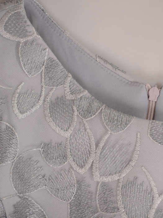 Sukienka na wesele, elegancka kreacja  z koronki i tkaniny 21535.