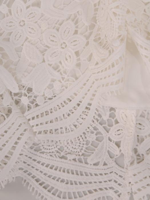 Sukienka na wesele, komunię, elegancka kreacja z koronki 20550.