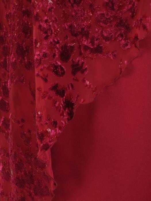 Sukienka na wesele, kreacja w fasonie maskującym brzuch 31194