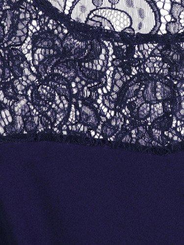 Sukienka wizytowa z koronkowym karczkiem Maksyma I.