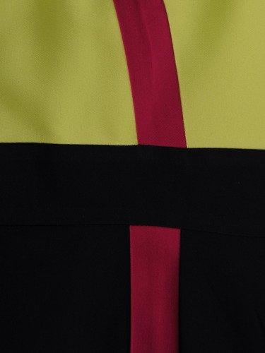 Sukienka wyszczuplająca Gracjana VI, wiosenna kreacja z tkaniny.