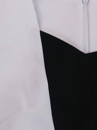 Sukienka wyszczuplająca Katia I, wiosenna kreacja z tkaniny.