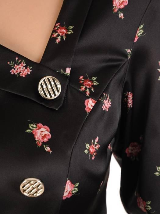 Sukienka wyszczuplająca, damska kreacja z tkaniny 29777