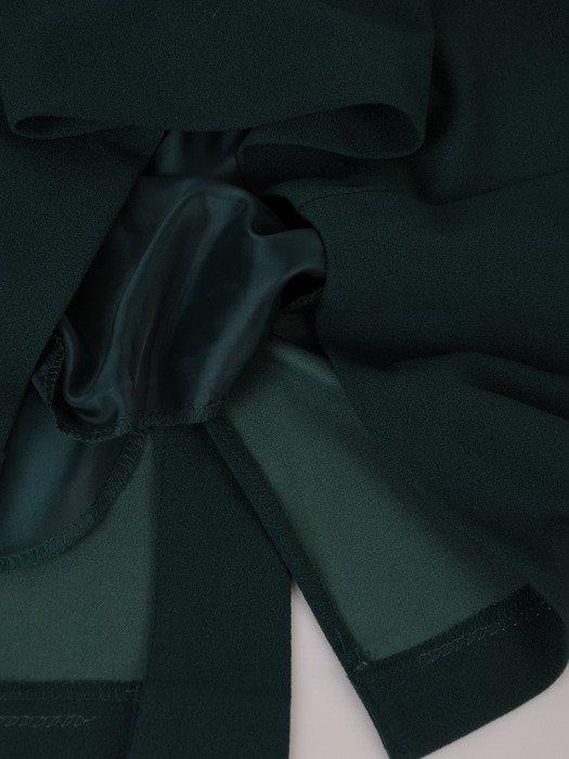 Sukienka z asymetrycznym, kopertowym zapięciem 17994.