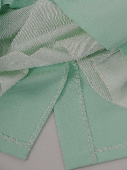 Sukienka z efektownie wykończonym dekoltem Klodetta I, stylowa kreacja na lato.