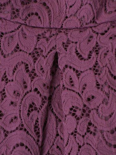 Sukienka z koronki Klerisa III, elegancka kreacja na wesele.
