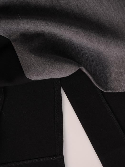 Sukienka z ozdobnymi mankietami Żaneta I, modna kreacja do pracy.