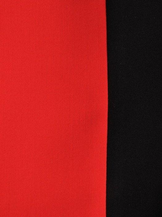 Sukienka z ozdobnymi mankietami Żaneta II, modna kreacja do pracy.