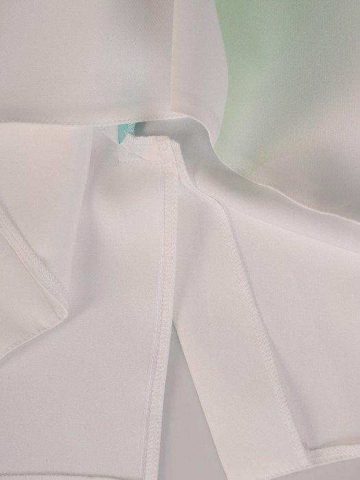 Sukienka z tkaniny, wiosenna kreacja wyszczuplająca 20058.