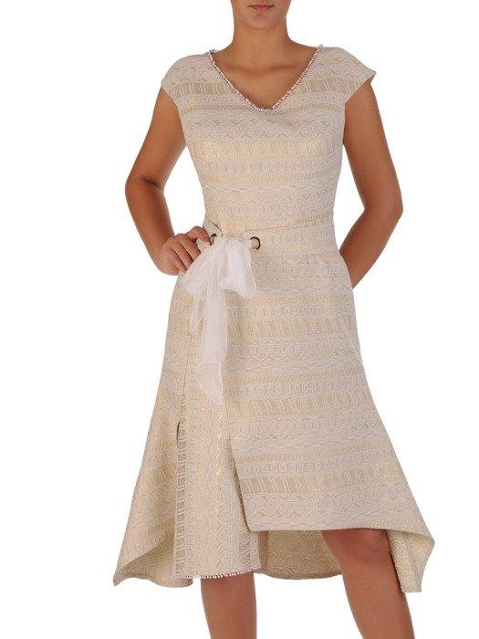 Sukienkadamska 17151, elegancka kreacja na wesele.