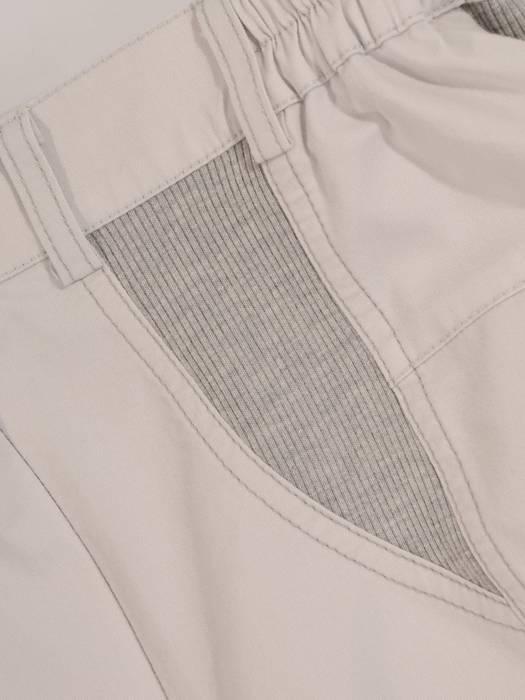 Szara bawełniana spódnica 28093