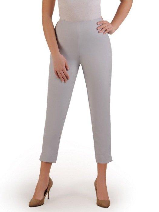 Szare spodnie cygaretki 25768