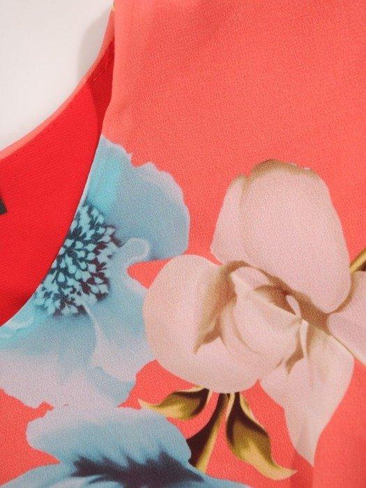 Szyfonowa bluzka w kwiaty 25193
