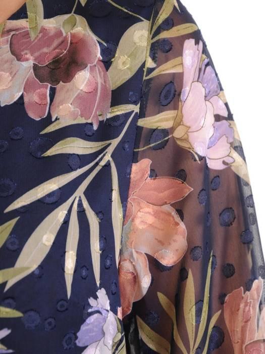 Szyfonowa bluzka w kwiaty 29600