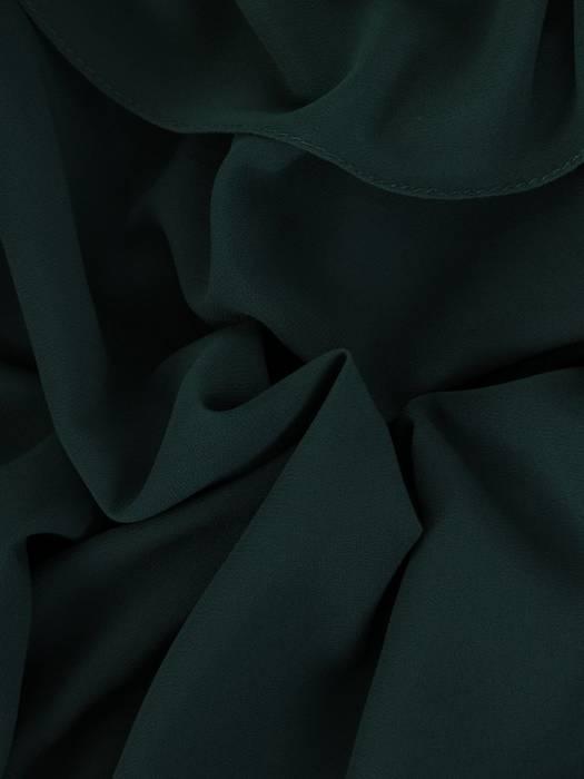 Szyfonowa sukienka maxi, kreacja z maskującą narzutką 26822