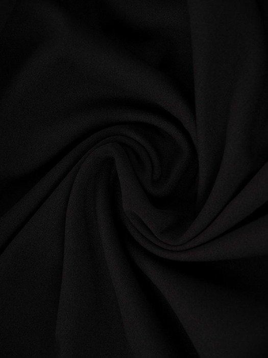 Trapezowa sukienka z koronkowymi wstawkami na rękawach 24155