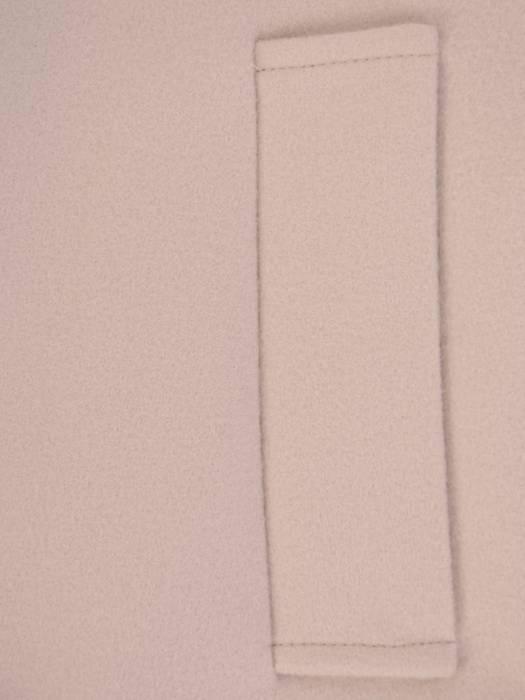 Wiosenny beżowy płaszczyk z paskiem 28405