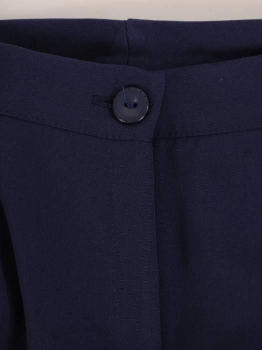 Wyszczuplający komplet damski, luźna tunika ze spodniami w kant 29114