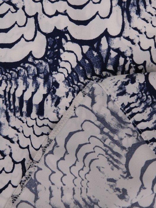 Wzorzysta bluzka z ozdobnymi lamówkami Anatola III.