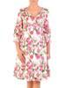 Bawełniana, podkreślająca biust sukienka na wiosnę, lato 29778
