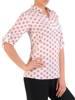 Bluzka koszulowa ze stójką 29564