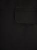 Długa, czarna marynarka damska 30828
