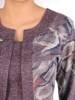 Dzianinowa sukienka, kreacja z imitacją żakietu 29333