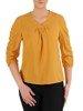 Elegancka bluzka z marszczonymi rękawami 25402