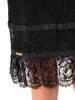 Koronkowa sukienka z ozdobnymi falbankami 28420