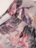 Kwiatowa, szyfonowa bluzka z falbankami 28056