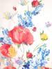 Luźna sukienka z przewiewnej wiskozy, kreacja w kwiaty 30367