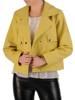 Modna krótka kurtka z kieszeniami 28599