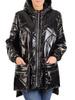 Połyskująca kurtka damska z ozdobnymi kieszeniami 30998